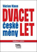 Dvacet let české měny