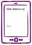 Edda- Baldrovy sny