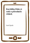Encyklika Fides et ratio o přírodních vědách