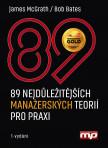 89 nejdůležitějších  manažerských teorií