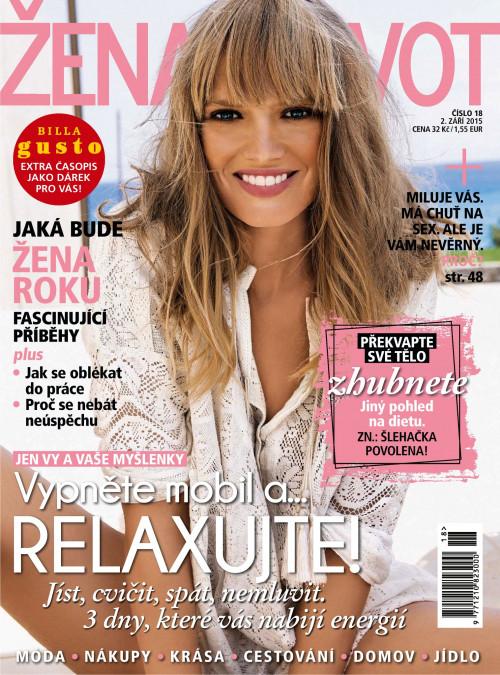 32c8ccb9c Žena a život 18/2015 / e-knihy | e-časopisy | iBux.sk