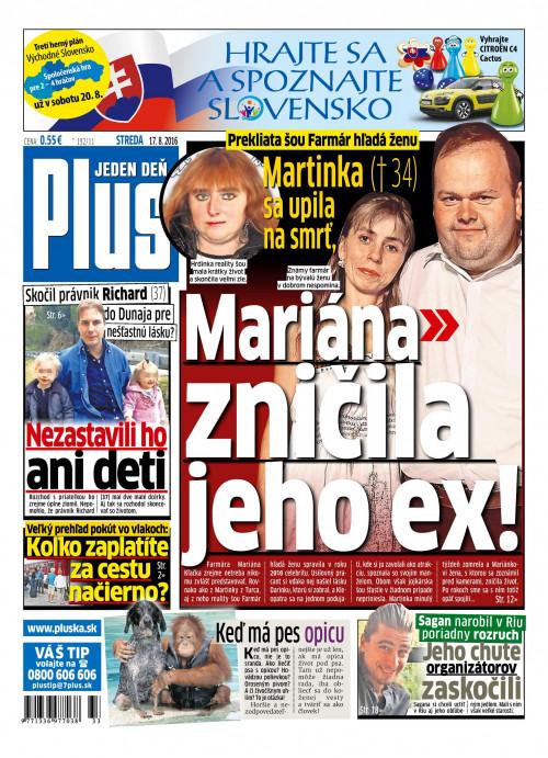 e-časopis Plus 1 deň 192 2016   vydavateľ 7 Plus - Rajknih.sk f5c26974100