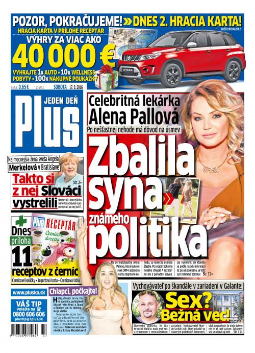 e-časopis Plus 1 deň 215 2016   vydavateľ 7 Plus - Rajknih.sk 9401b3a5ccf