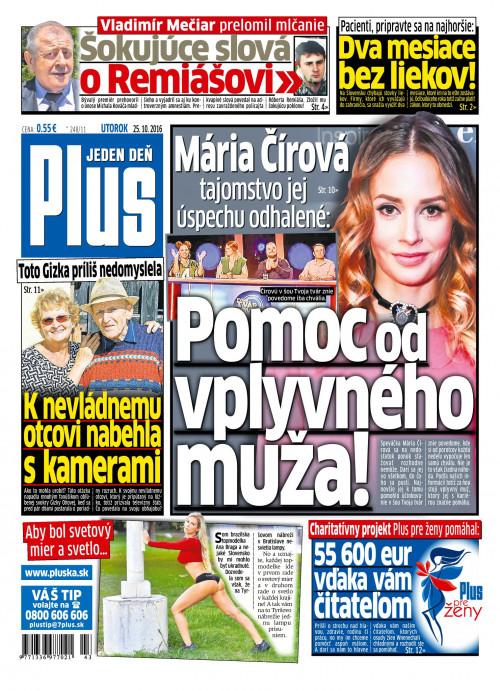 e-časopis Plus 1 deň 246 2016   vydavateľ 7 Plus - Rajknih.sk 1161275c880