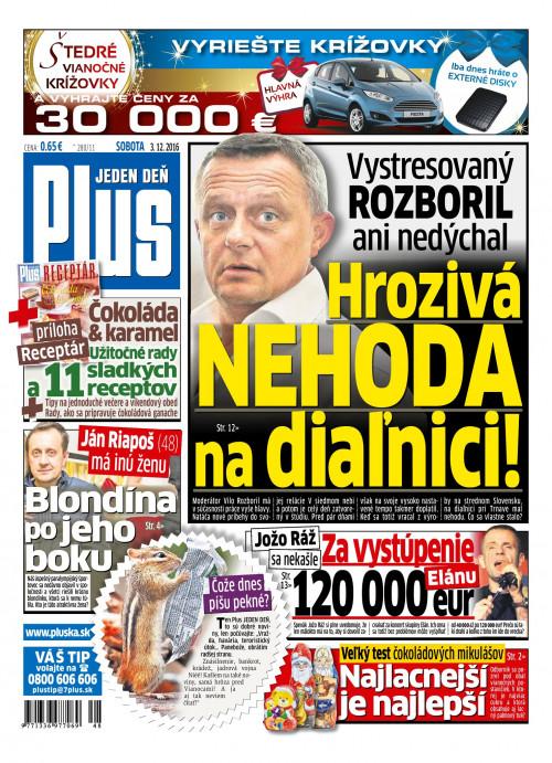 e-časopis Plus 1 deň 282 2016   vydavateľ 7 Plus - Rajknih.sk 0b63c88a289